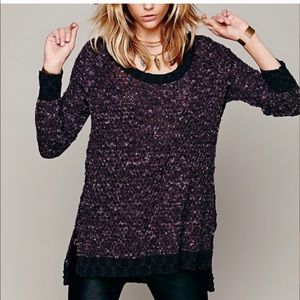 Free People Honeycomb Sweater pullover small